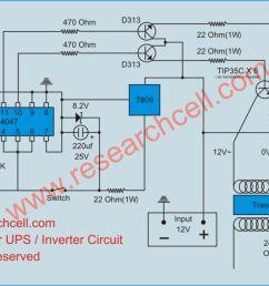 ups inverter circuit diagram [ 1173 x 754 Pixel ]
