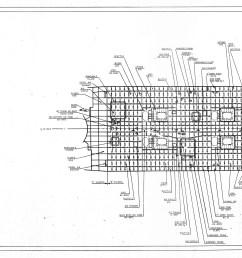 uss iowa bb 61 sheet 9 [ 6031 x 1493 Pixel ]