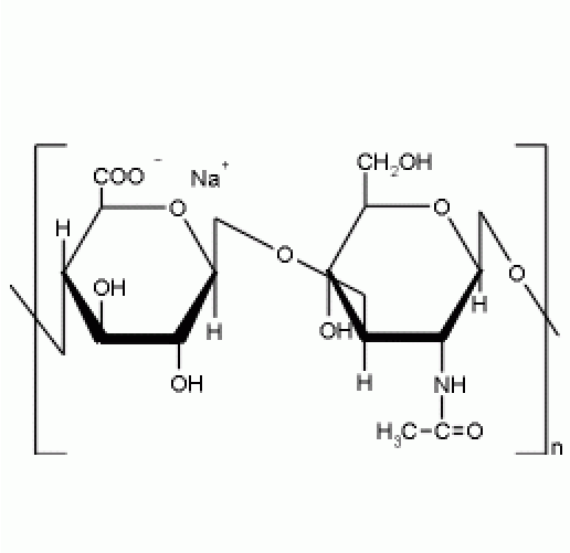 Figure S1. The chemical structure of sodium hyaluronate