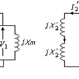 Simulink model of the no-load test (case of the wound