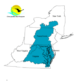 general map outline of chesapeake bay watershed source us epa http  [ 850 x 1099 Pixel ]