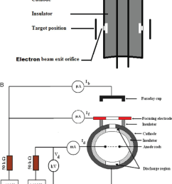 schematic of the double beam source a electron source and b ion source [ 850 x 1085 Pixel ]