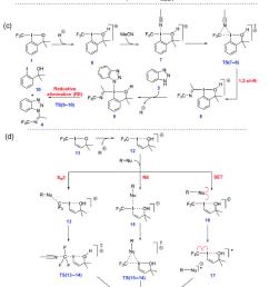 scheme 13 a common hypercoordinate iodine reagents used for electrophilic trifluoromethylation b [ 850 x 1262 Pixel ]