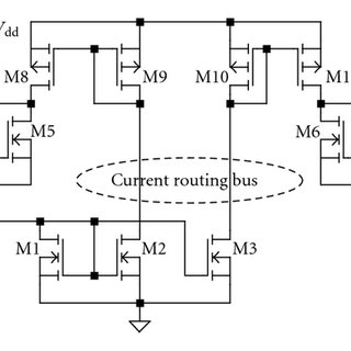 Bias distribution circuit using both current-routing and