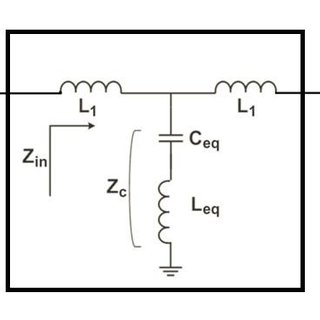 Proposed equivalent circuit model of the variable
