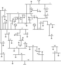 one line diagram of 115 kv sec system  [ 850 x 951 Pixel ]