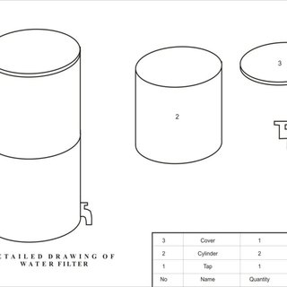 (PDF) Fabrication of Plastic Water Filter and Testing with