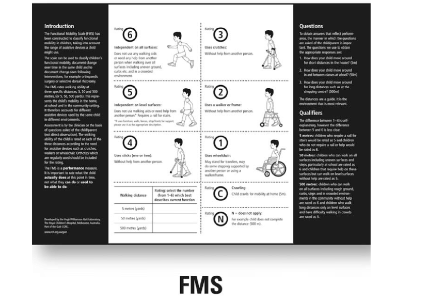 The Functional Mobility Scale | Download Scientific Diagram