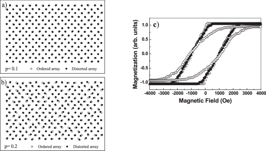 Modeling disorder on nanowires arrays with hexagonal
