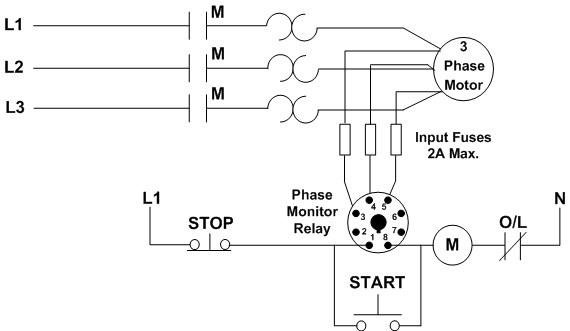 square d 3 phase motor starter wiring diagram obd2 honda sequence c liquid level relay l is used to monitor