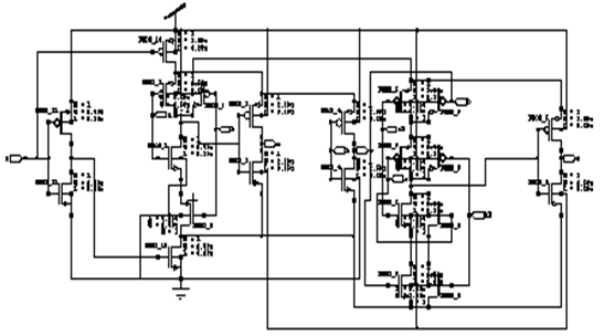 Schematic diagram of proposed 2-bit binary incrementer