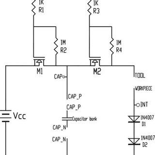 Charging Discharging circuit Higher value of capacitance