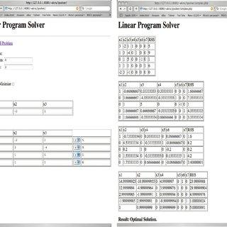 (PDF) Linear Programming in Database