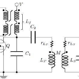 Circuit diagram of the implemented inductive power