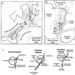 (PDF) Continental rifting parallel to ancient collisional