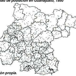 2. Las regiones económico-geográficas en el estado de