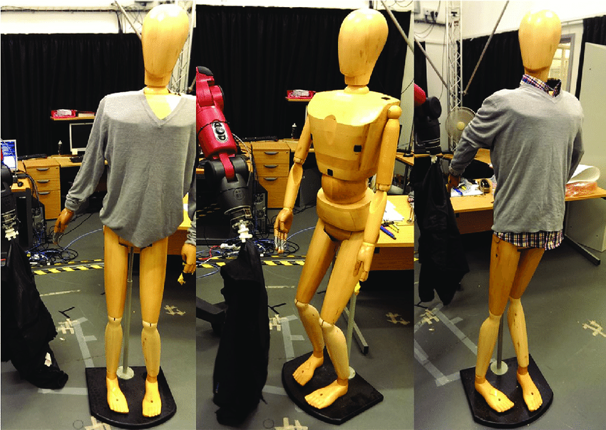 mannequin poses used during