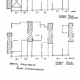 Chamber Works, drawing by Daniel Libeskind [1983]. Image