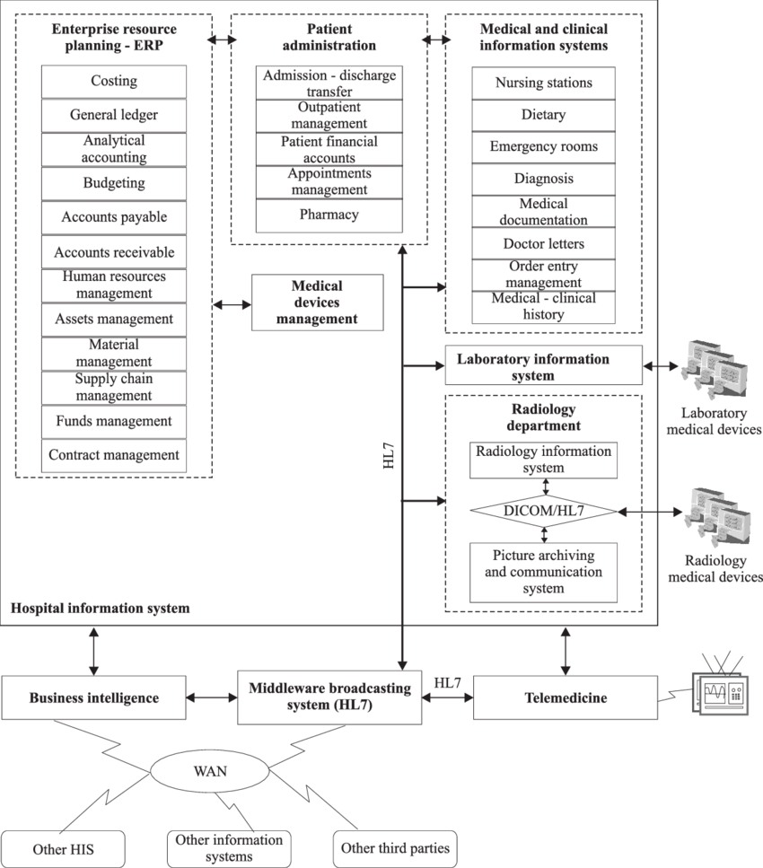 hight resolution of regional healthcare information system basic software components