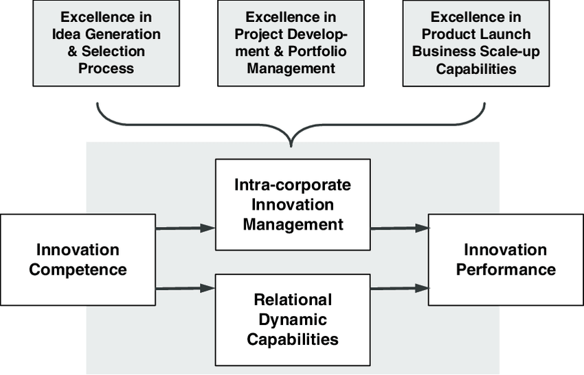 Intra-corporate dynamic capabilities based on internal