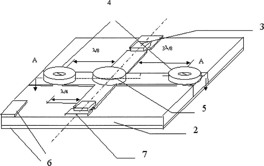 Microstrip magnetoelectric resonance attenuator 1
