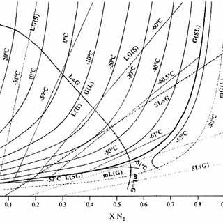 Ž a . Densities of the liquid and gas phases on the