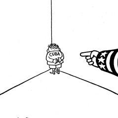 Medical Scenario metaphor (Fritz Behrendt, De Telegraaf