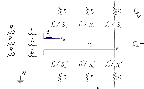 , The circuit equivalent model of a voltage source