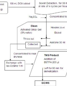 Flow chart for the complete extraction and cleanup process of identifying phenolic compounds from compost also rh researchgate
