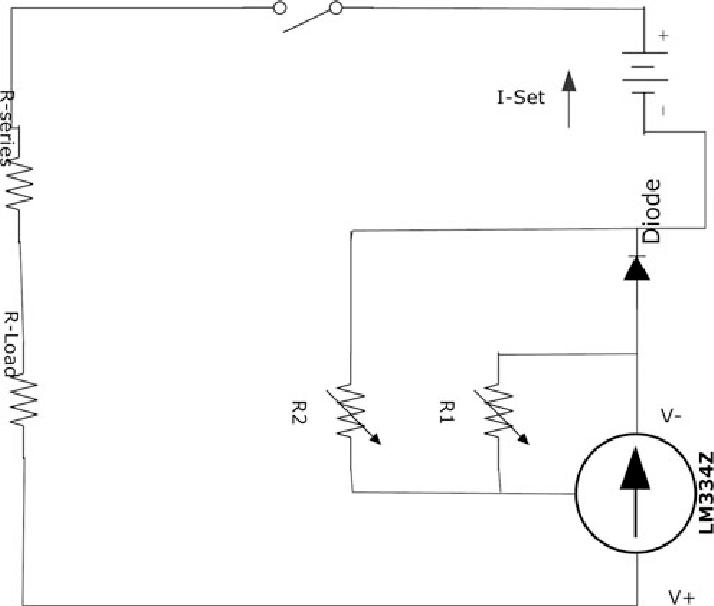 Schematic diagram of stimulator circuit. Variable