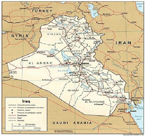 Tigris And Euphrates River Map Full