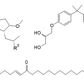 Small molecule compounds identified from marine library