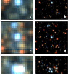 muse versus hst images of 4 4 arcsec 2 size from field i  [ 765 x 1132 Pixel ]