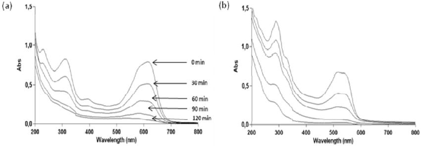Photocatalytic degradation under 125 W mercury-vapor lamp