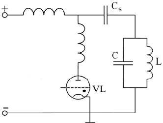 Schematic diagram of the thyratron pulser for power supply