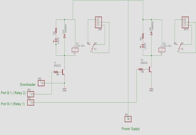 Relay Circuit 4. A Whole Circuit Figure 5 is a describing