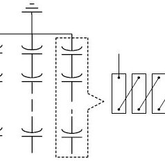 Externally fused shunt capacitor bank and capacitor unit