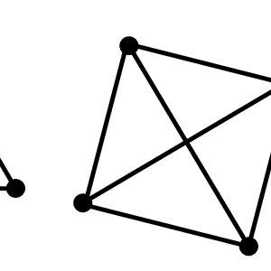 2d projections of simplexes with