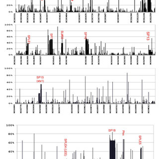 The dendrogram generated by CGH analysis of E. coli O157