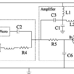 A circuit diagram of the driver board used to drive the