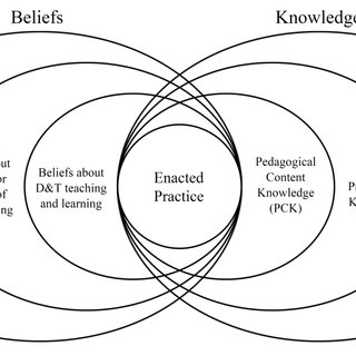 Model of teacher professional knowledge and skill