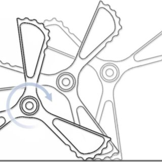SprawlHex adopts a the hexapod RHex morphology and permit