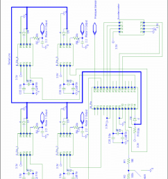 full digital circuit diagram for pcb  [ 850 x 1127 Pixel ]