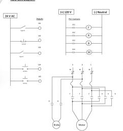 hard wired plc control diagram  [ 850 x 1013 Pixel ]