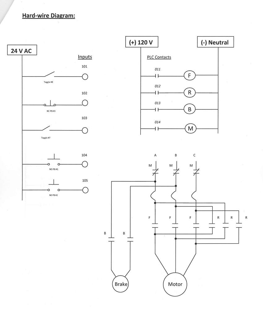 medium resolution of hard wired plc control diagram
