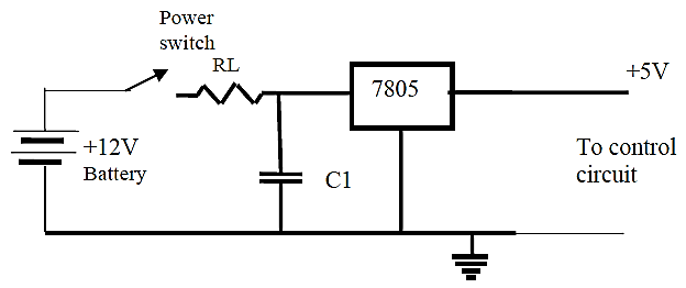 Power Supply Circuit Specification for the7805 Voltage