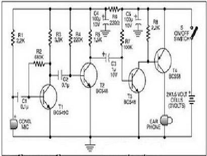 An alternative circuit: The circuit diagram to the low