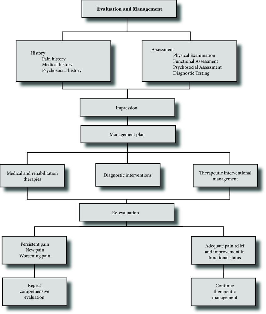 hight resolution of a comprehensive algorithm evaluation and management of chronic spinal pain