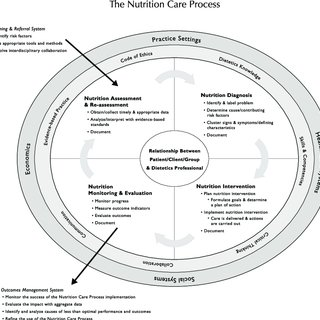 (PDF) Nutrition care process and mode part I : The 2008 update