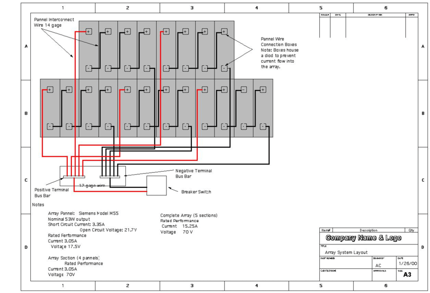 pv array wiring diagram 3 phase generator 13 solar download scientific